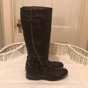 Rampage Tall Dark Brown Boots Size 9M